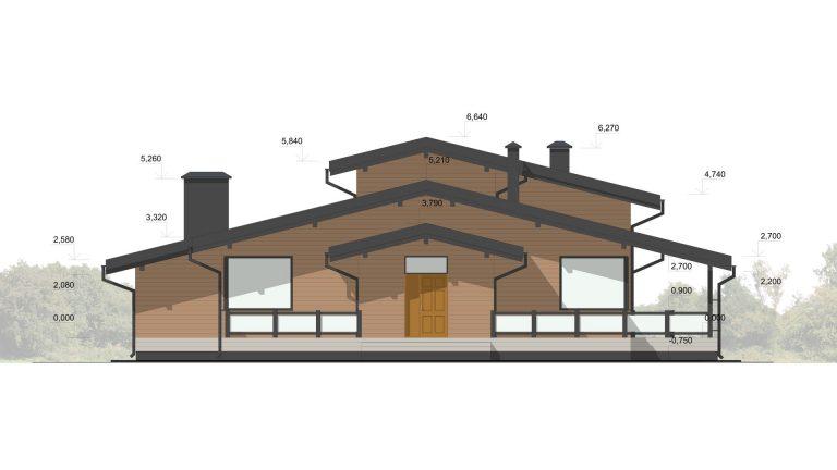 Изображение фасада 2D