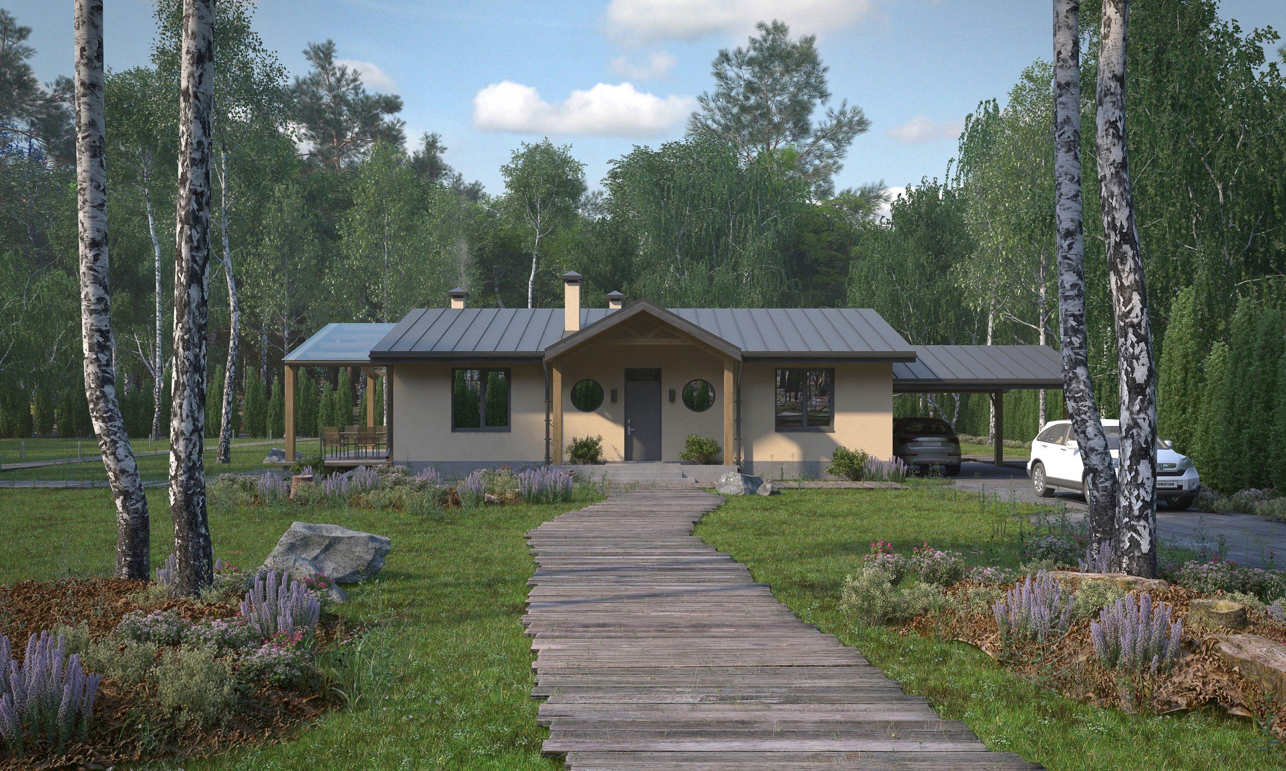 Изображение для проекта Проект небольшого дома по Васту и Фэншуй 1780