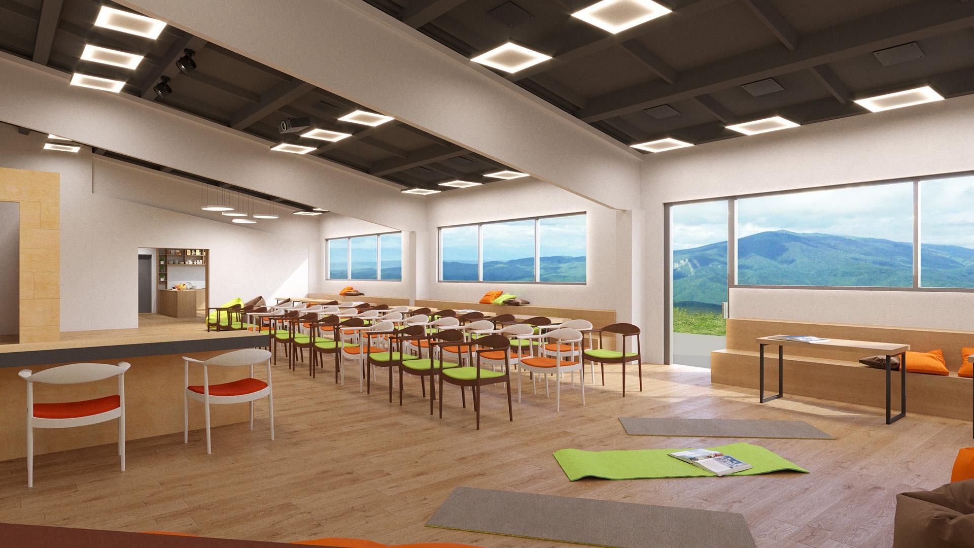 Изображение для проекта Учебный зал центра гуманной педагогики в Грузии 2024