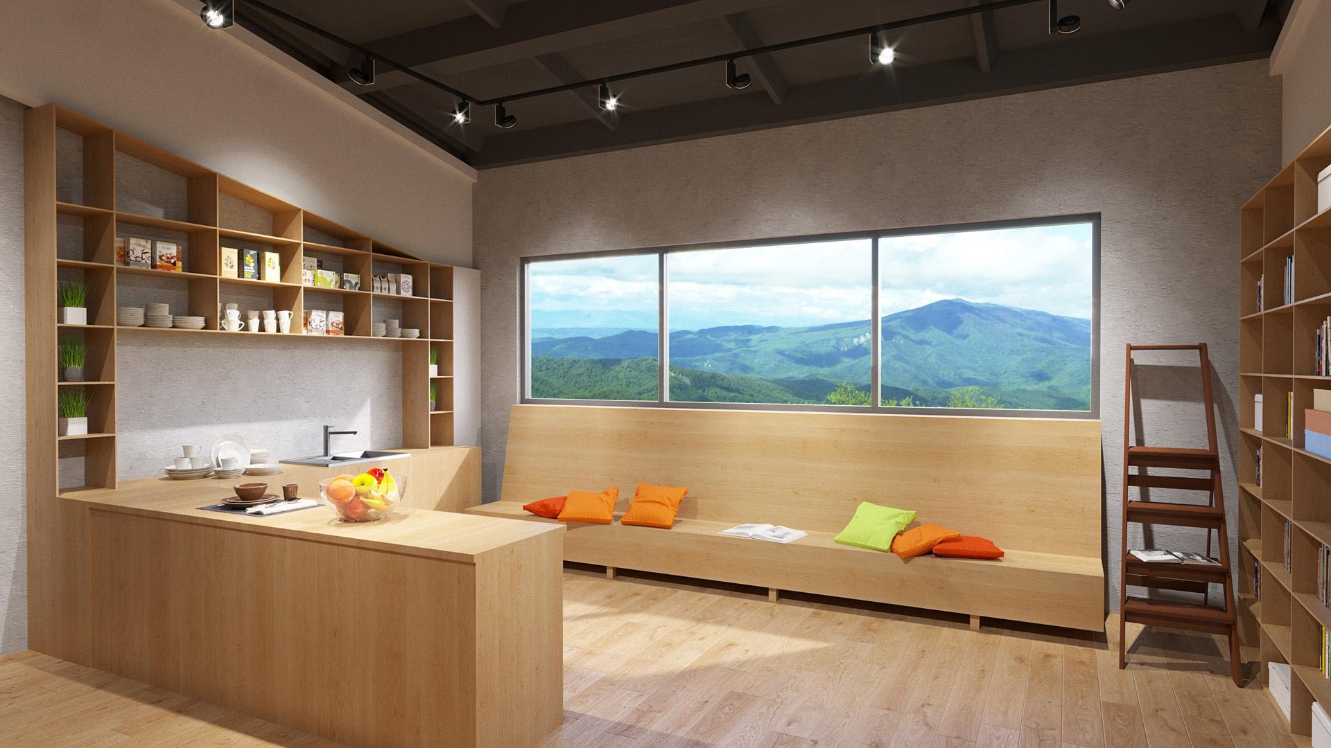 Изображение для проекта Учебный зал центра гуманной педагогики в Грузии 2027