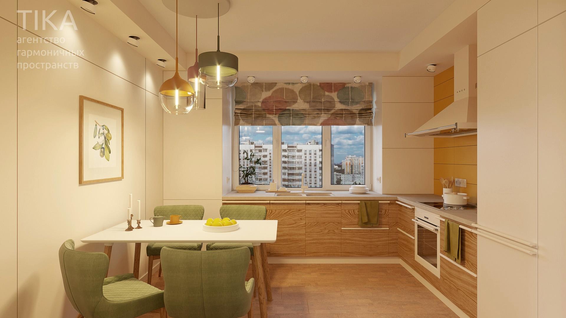 Изображение для проекта Дизайн интерьера квартиры в Москве 2132