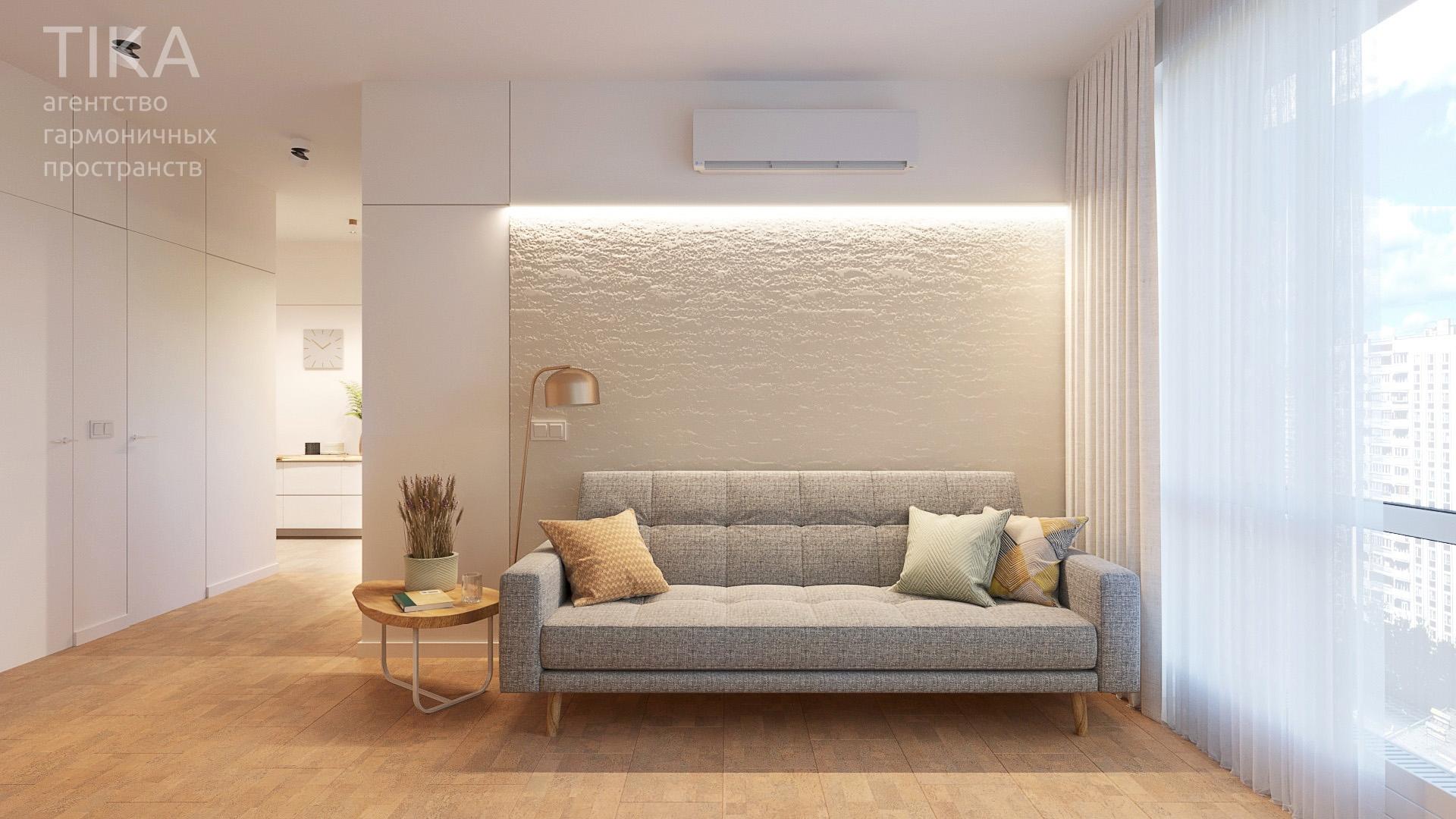 Изображение для проекта Дизайн интерьера квартиры в Москве 2133