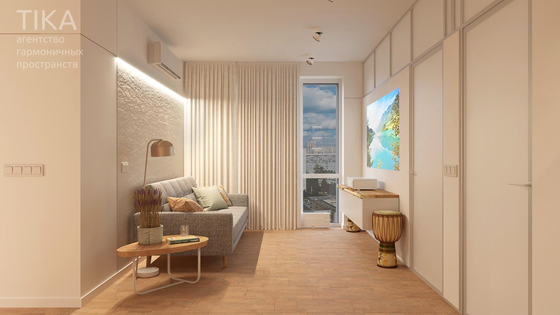 Изображение для проекта Дизайн интерьера квартиры в Москве 2134