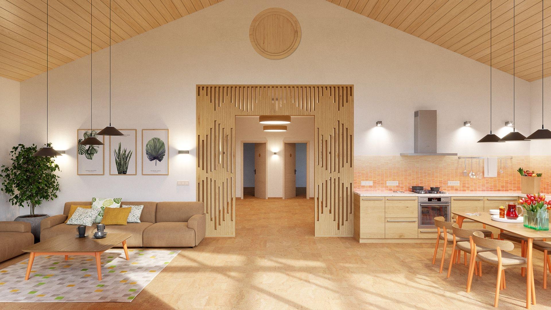 Изображение для проекта Проект кирпичного дома для музыканта 2152