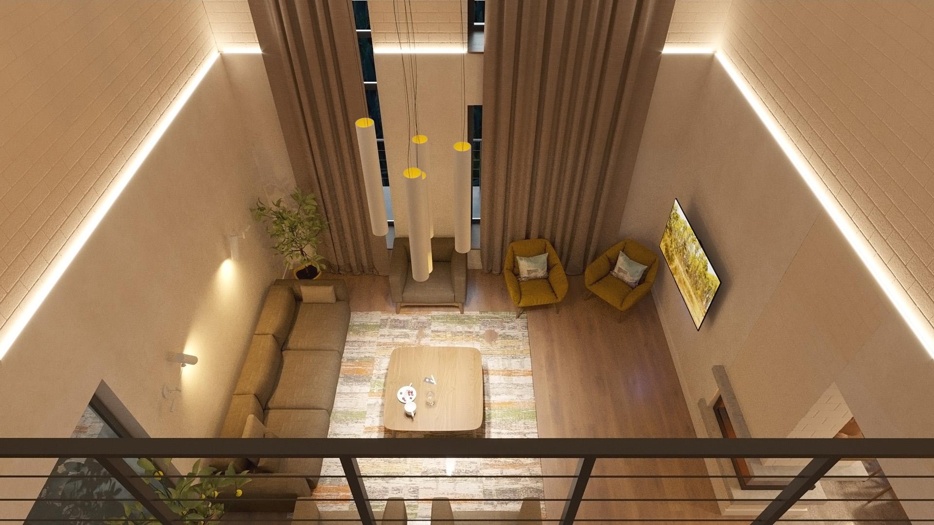 Изображение для проекта Современное поместье для большой семьи 2174