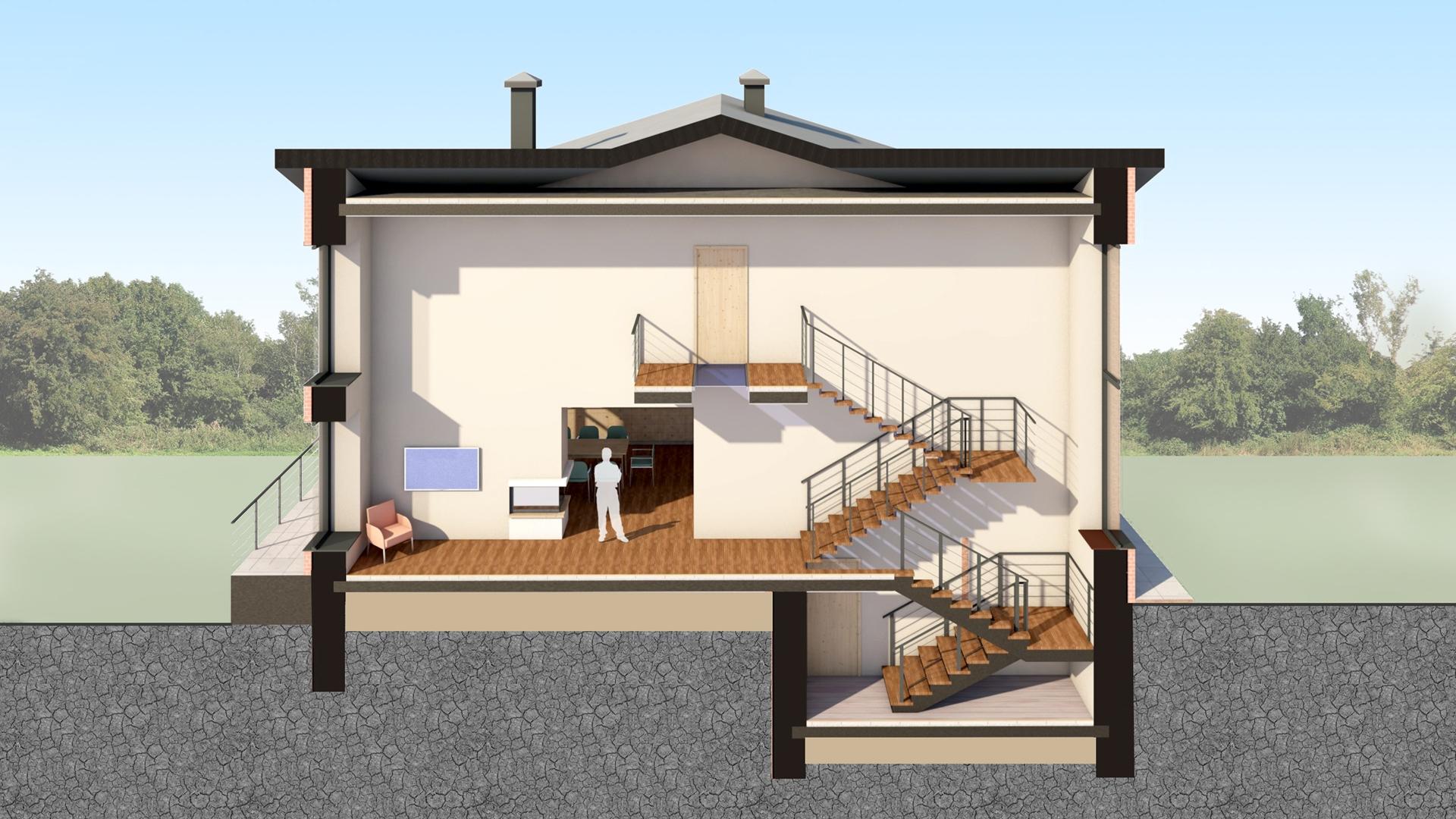 Изображение для проекта Современное поместье для большой семьи 2177