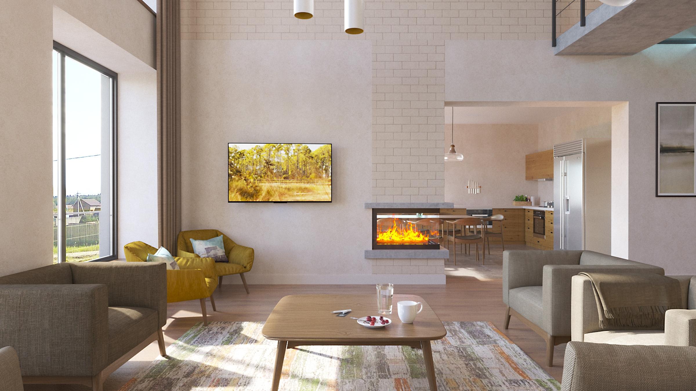 Изображение для проекта Современное поместье для большой семьи 2172