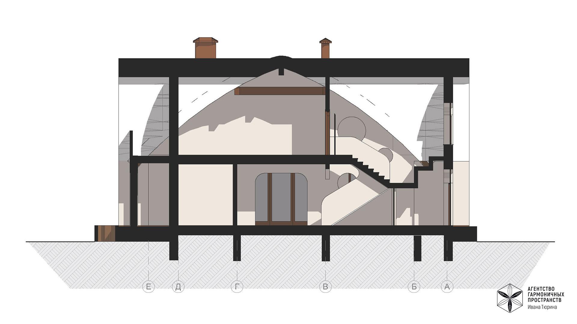 Изображение для проекта Усадьба из природных материалов в органическом стиле 2849