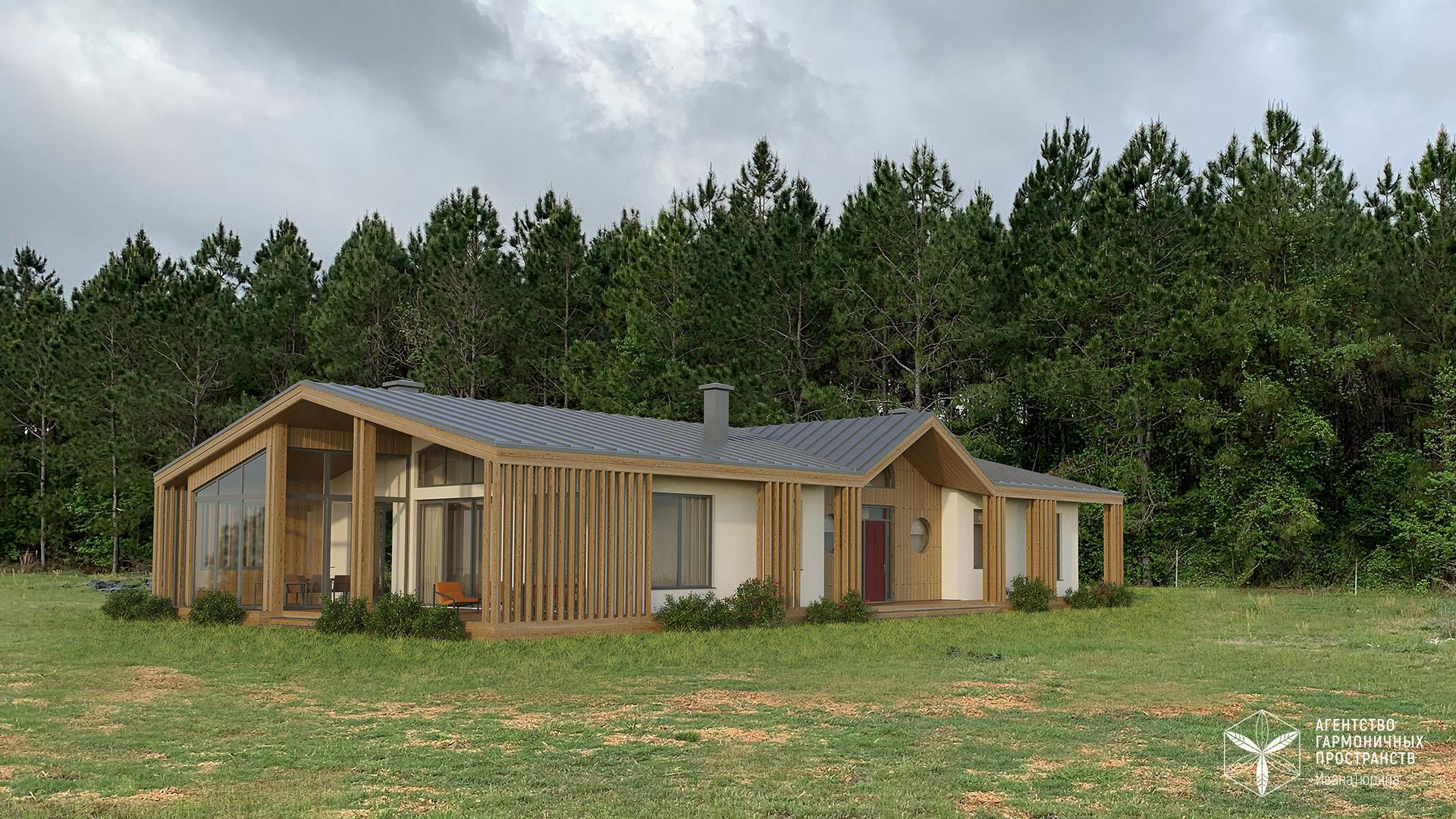 Изображение для проекта Каркасный дом с конопляным утеплителем во Флориде 2871