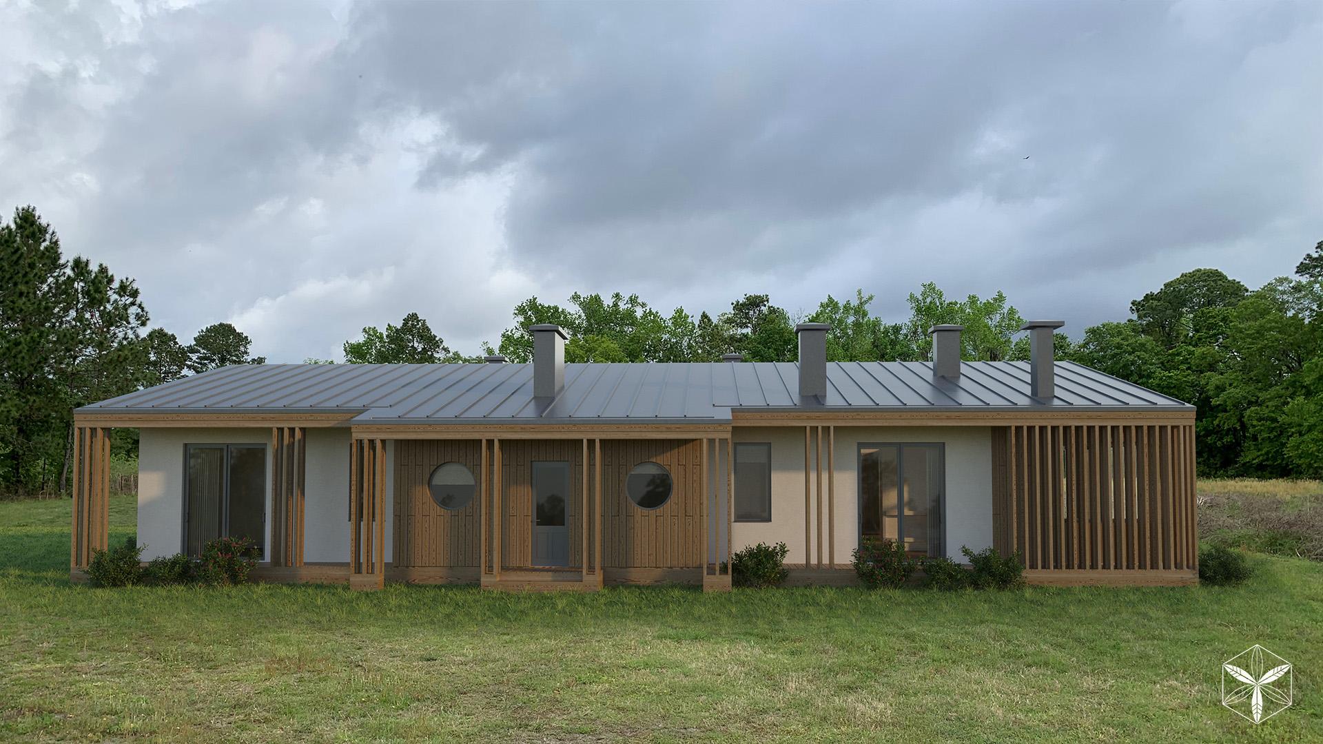 Изображение для проекта Каркасный дом с конопляным утеплителем во Флориде 2869