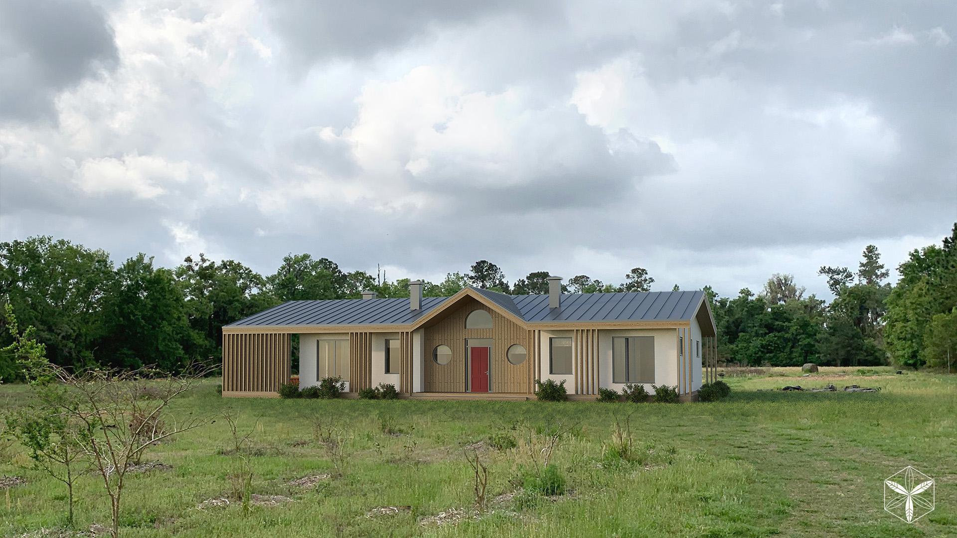 Изображение для проекта Каркасный дом с конопляным утеплителем во Флориде 2868