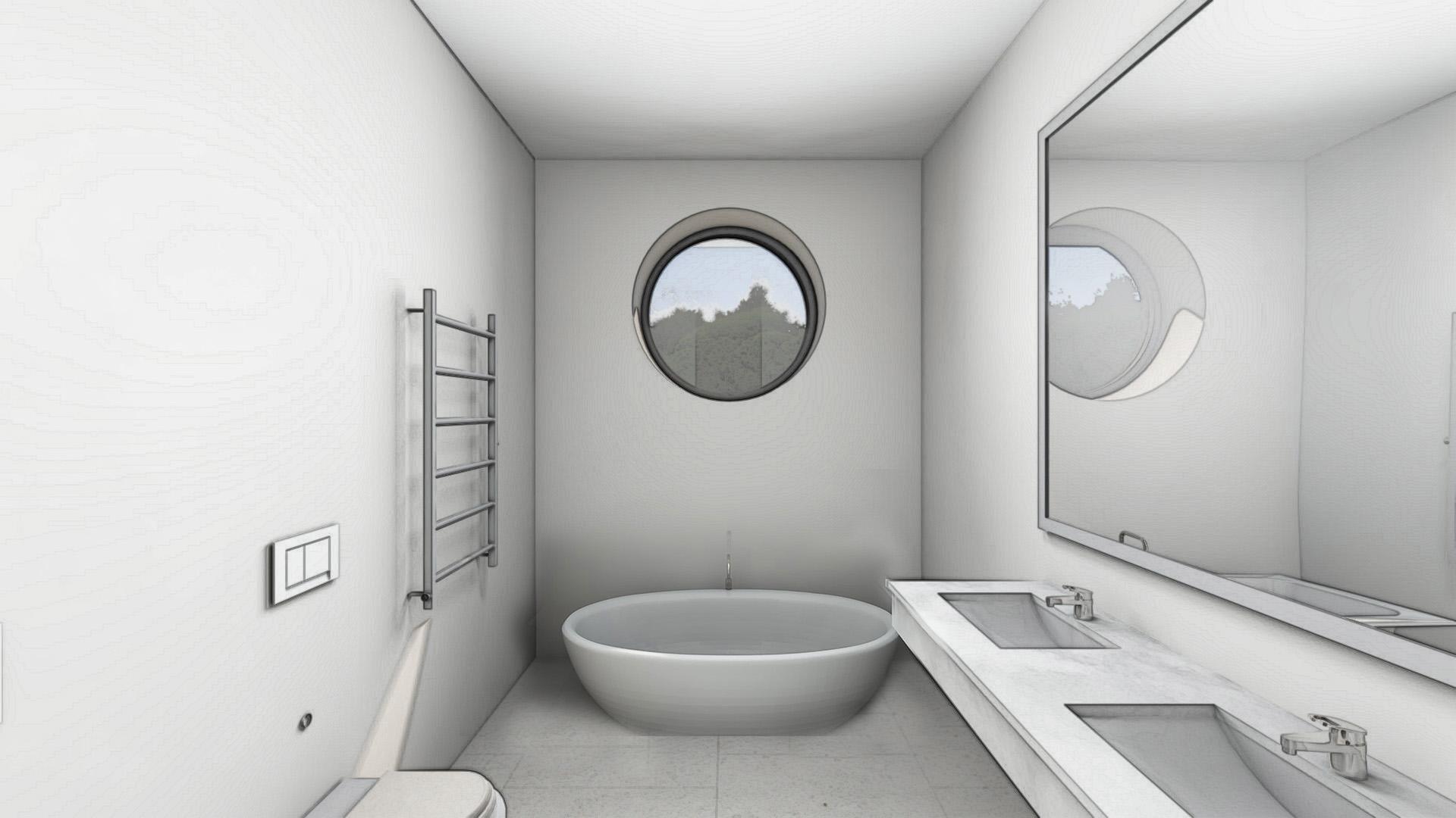 Изображение для проекта Проект особняка в Латвии в стиле модерн 2901
