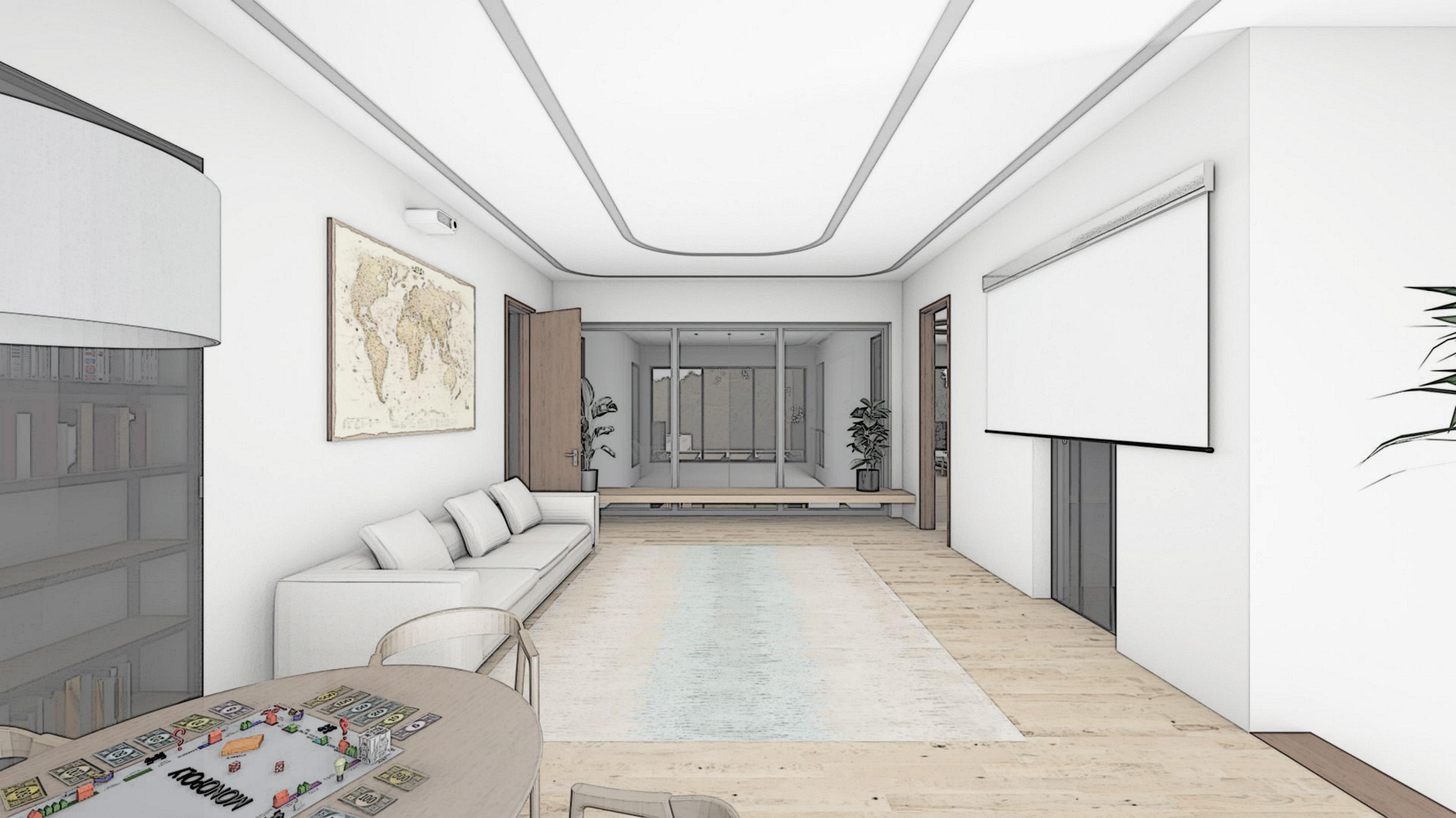 Изображение для проекта Проект особняка в Латвии в стиле модерн 2902