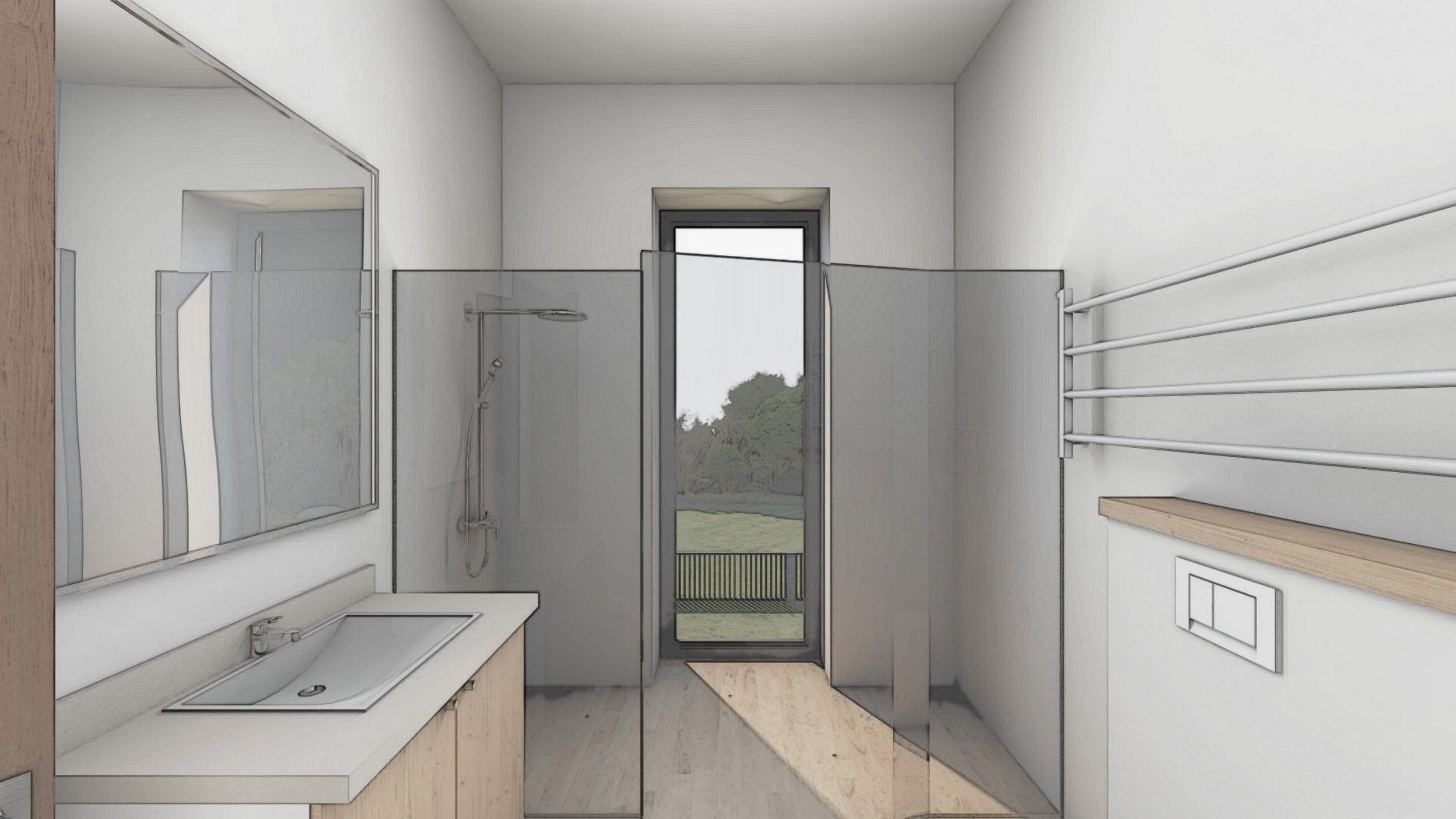 Изображение для проекта Проект особняка в Латвии в стиле модерн 2905