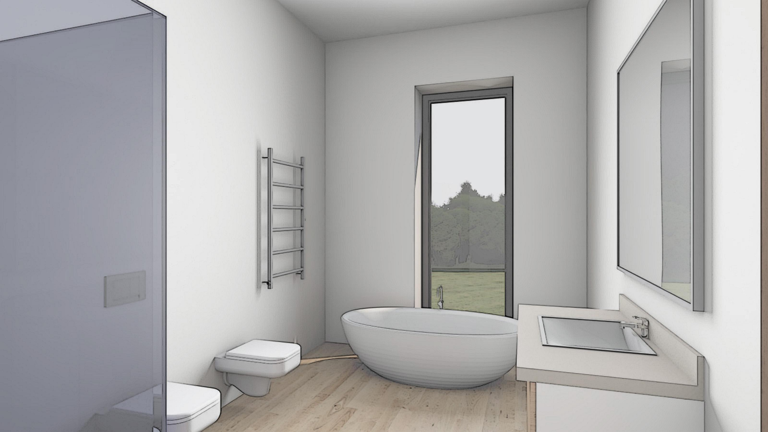Изображение для проекта Проект особняка в Латвии в стиле модерн 2908