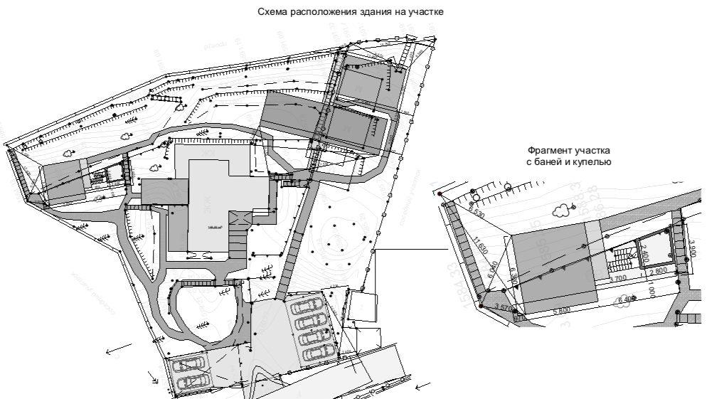 Изображение для проекта Проект гостевого комплекса в горном ущелье близ Алматы 3252