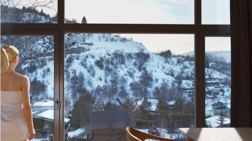 Изображение для проекта Проект гостевого комплекса в горном ущелье близ Алматы 3253